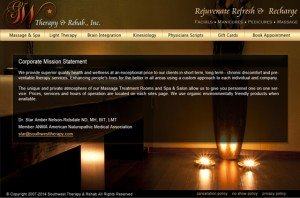 Beauty Salon web designer
