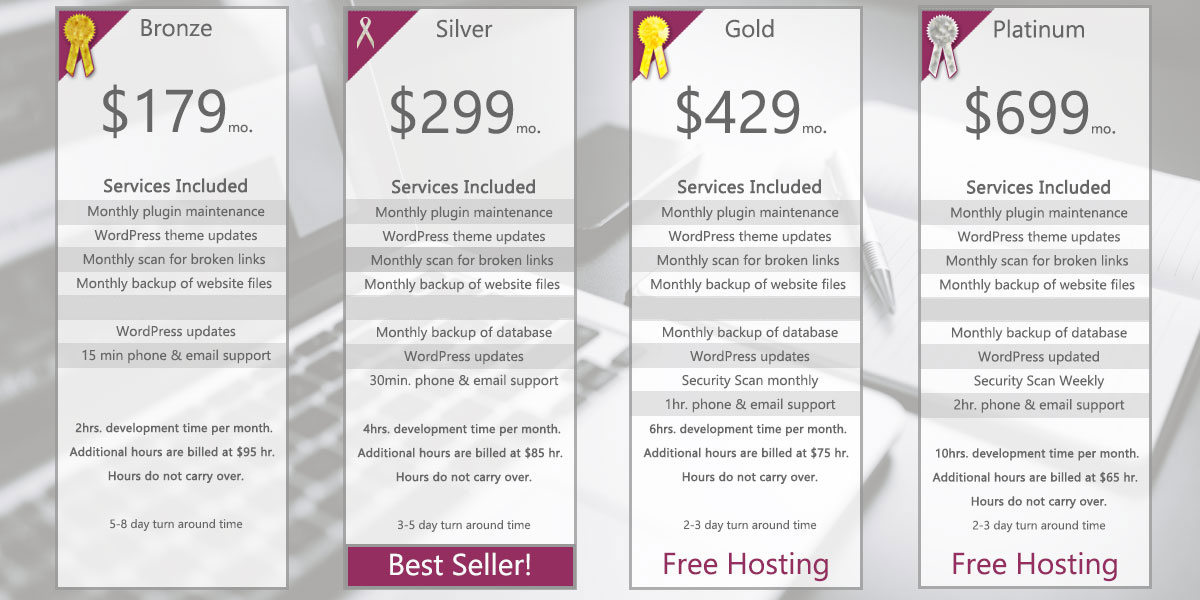 Website Maintenance Packages Albuquerque